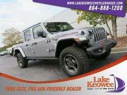 2020 Jeep Gladiator Rubicon 2020 Jeep Gladiator Rubicon 15 Miles Billet Silver Metallic Clearcoat Crew Cab P