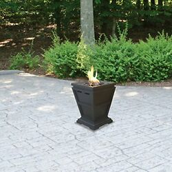 Propane Firepit Table Patio Heater Outdoor Gas Table Fireplace Countertop Heat