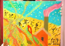 oil Paintings  art oil on canvas``home sweet home``cool PAINTING