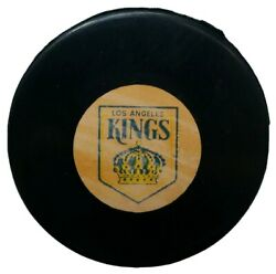 Los Angeles Kings Nhl Official Game Puck Rare Viceroy Mfg. Vintage - Canada Rare