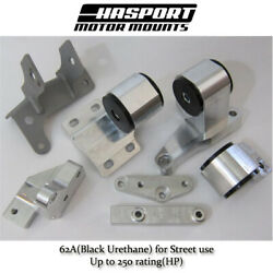 Hasport Mount Kit For H-series Engine Swaps Into The 88-91 Honda Civic/ Crx 62a