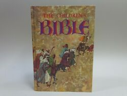 The Childrens Bible Golden Press Illustrated Hardcover Very Good Condition