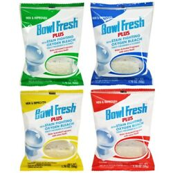 Bowl Fresh 310.24t No Phosphate Toilet Freshener And Cleaner 1.76 Oz. Pack Of 24