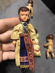 Antique Ari Rubber Doll Miniature Germany Toy 1940s