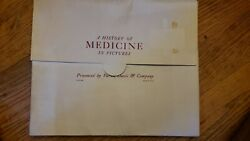 A History Of Medicine In Pictures 39 Prints By Parke Davis And Company W/ Detail