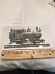Vintage Crr Of Nj New Jersey Central Railroad Engine 840 Photo Picture Train