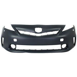 For 12-14 Prius V Front Bumper Cover Assy Halogen Headlamps To1000389 5211947926