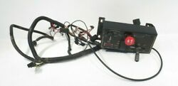 Oem Woods 6160 Lawn Tractor Console Panel Choke Cable Assembly Wire Harness