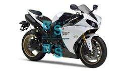 White Injection Fairing Plastic Kit Set Fit Yamaha Yzf-r1 2012-2014 005 A1