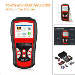 OBD2 Car Diagnostic Tool Scanner KW850 Auto Code Reader & Scanners Universal Kit