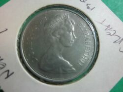 Great Britain Coin -1968 New Pence-.-10 P.