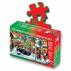Worlds Smallest Puzzle - Christmas Theme Christmas Streets
