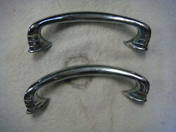 Vintage 20and039s - 40and039s Ford Chevy Dodge Dash Or Door Pulls Look To Be Original