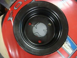 Original 1968 - 1971 Mustang Fairlane 390 428 Crank Pulley Crank Shaft Pulley