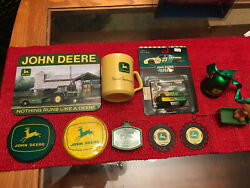 10 Piece John Deere Lot Amazing Great Gift