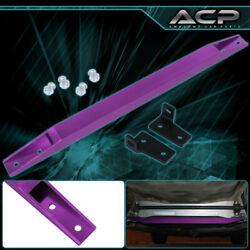 Purple Rear Lower Short Subframe Tie Bar Brace For 96 97 98 99 00 Honda Civic