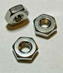 Hex Machine Screw Nuts Stainless Steel Choose Size 4-40 6-32 8-32 And Qty