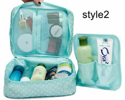 Waterproof Makeup Bag Travel Cosmetic Kit Large Essentials Toiletry Organizer $5.15