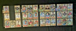 1970-1979 Topps Football 425 Cards Includes Stars Gfcc