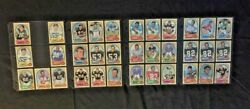 1970-1979 Topps Football 375 Cards Includes Stars Gfcc