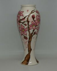 Moorcroft Numbered Edition Confetti Vase Shape 75/10 As New First Quality Boxed
