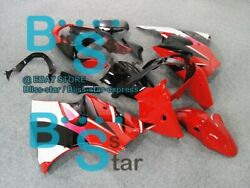 Red Decals Injection Fairing Plastic Kit Fit Kawasaki Zx-6r 2001 00-02 62 A5