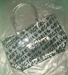 Victoriaand039s Secret Clear Tote With Cosmetics Bag - New With Tags - Great Gift