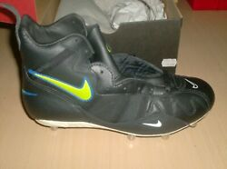 Nike Shoes Vintage From The 80s Or 90s - Rugby High - Nos Old Stock --  9.5 Us