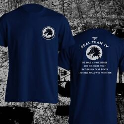 Navy Seal Team Four Devgru Pale Horse Quotes Us Army Special Force Men T-shirt
