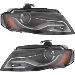 Hid Headlight Lamp Left-and-right Hid/xenon Au2503150, Au2502150 Lh And Rh For A4