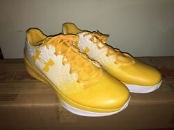 Under Armour UA ClutchFit Drive 3 Low sz 17 Yellow White 1295351 100 Curry $49.95
