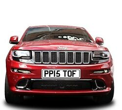Ppi5t Of.. Great Fun Number Plate The One Dvla Let Slip Through Pp15 Tof