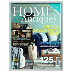 Homes And Antiques Magazine March 2016 Mbox422 Special Collector's Issue