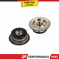 Pair Intake And Exhaust Variable Timing Camshaft Sproket For Gm 2.0l 2.4l