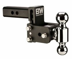 Bandw Tow And Stow Adjustable 3 Drop 3-1/2 Rise Dual 2-5/16 X 2 Size Ball Mount