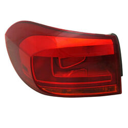 12-18 Vw Tiguan Outer Taillight Taillamp Rear Brake Light Tail Lamp Driver Side
