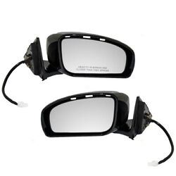 Set Of Side View Power Mirrors Heated Memory For 06 07 08 09 10 Infiniti M35 M45