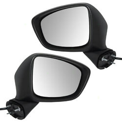 13-15 Mazda Cx-5 Set Of Side View Power Mirrors W/ Signal Kd3569181g Kd3569121h