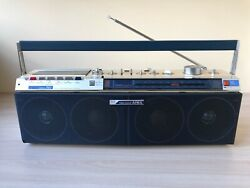 AIWA CS-J50 very RARE Vintage Stereo Boombox Recorder Good Working Condition