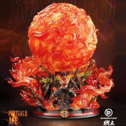 One Piece Portgas·d·ace Burning Point Studio Full Painted 1/6 Model Resin W/ Led