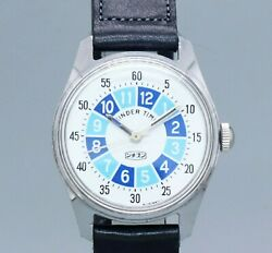 Citizen Kinder Time 4-020448 Yd Original Dial Manual Vintage Watch 1970and039s Oh