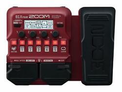 New Multi-effects Shoes Processor B1x Four Red For Zoom Bass