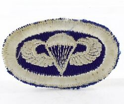 Wwii 325th Glider Infantry Oval Patch Theatre Made Jump Wing No Glow