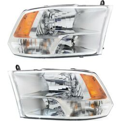 Ch2502281c Ch2503281c Headlight Lamp Left-and-right For Ram Truck Lh And Rh 1500