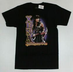 Xena Warrior Princess Official Black T-Shirt New! (5D5