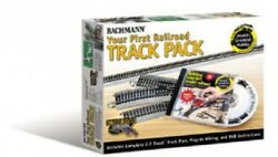 Bachmann 44596 Ho Scale - Your First Railroad Ez Track Set - Gray Roadbed