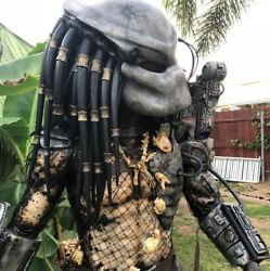Predator Costume Prop Movie Replica Predator Cosplay Life Size