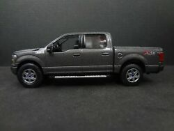 Auto World 2018 Ford F-150 Lariat Gunmetal Loose New Mint 164 Scale