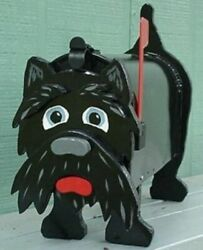Scottie Terrier Dog Mailbox Custom Mailboxes Dogs Postal Mail Box Pet