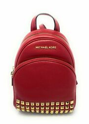 Michael Kors Giftables Abbey Leather Extra Small Crossbody Messenger Backpack $99.52